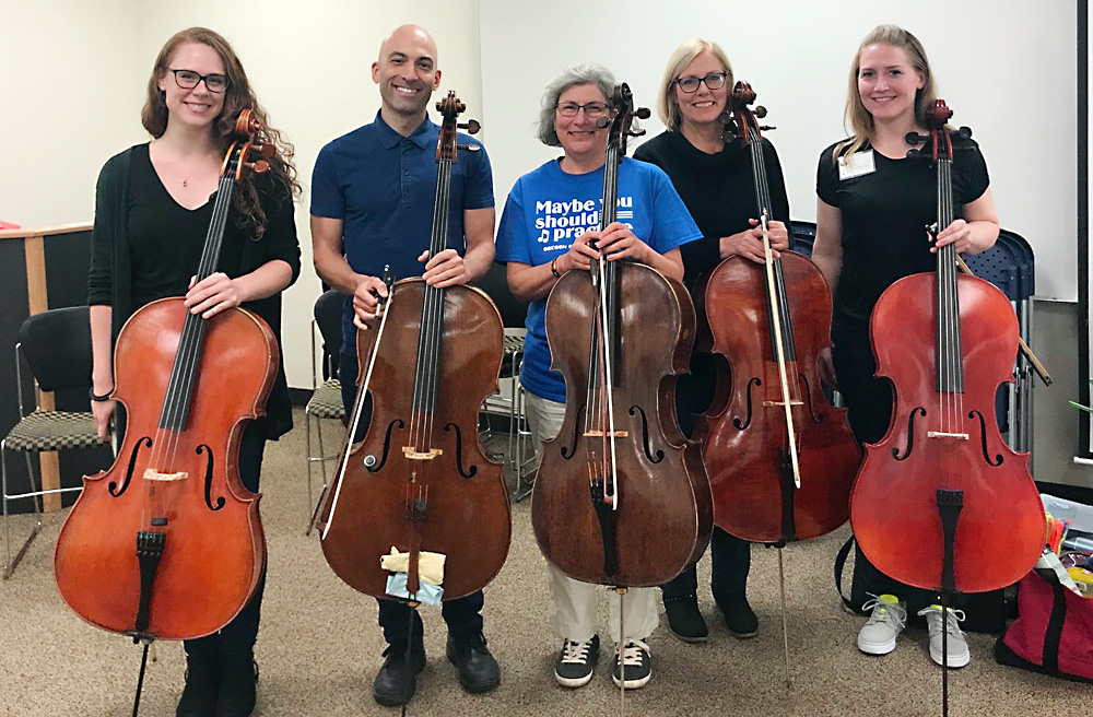 Cello Teacher Workshop